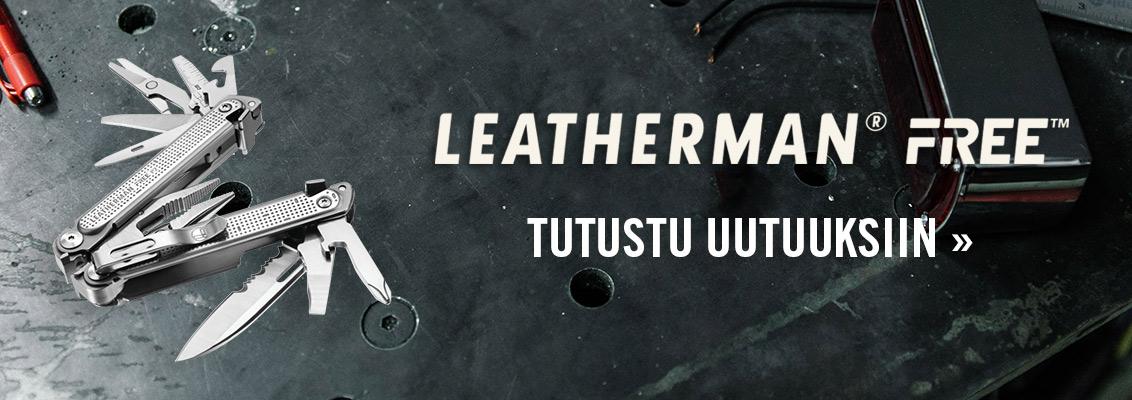 Leatherman Free uutuudet